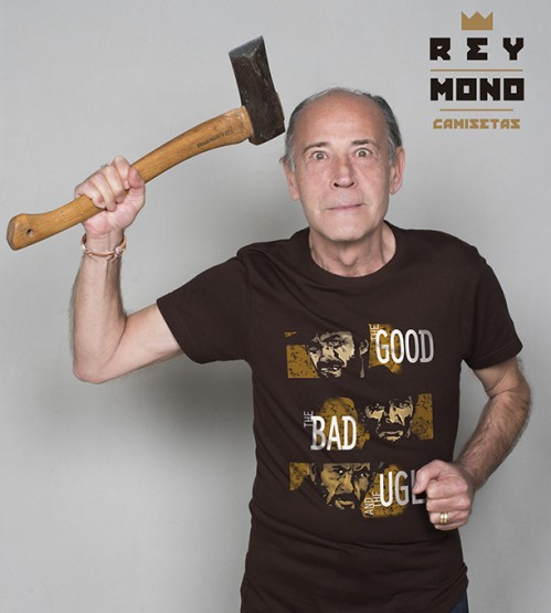 THE GOOD THE BAD THE UGLY camiseta