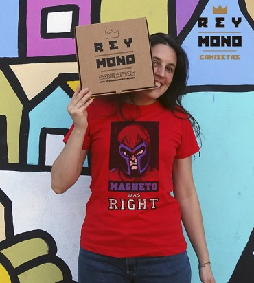 Magneto was right modelo mujer