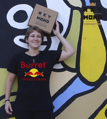 BURRET ENERGY DRINK CAMISA