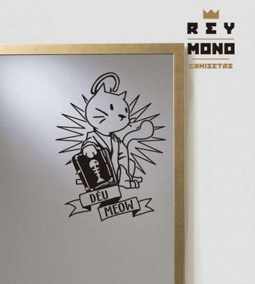 STICKER DÉU MEOW