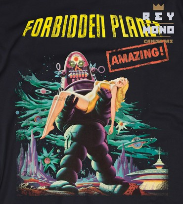 FORBIDDEN PLANET HEMD