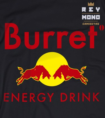 Burret Energy drink diseño