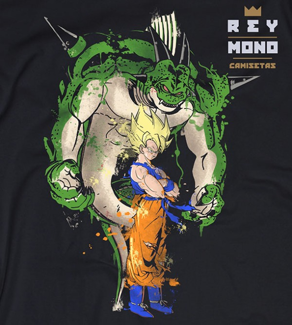 SUPER SAIYAN AND PORUNGA PRINT