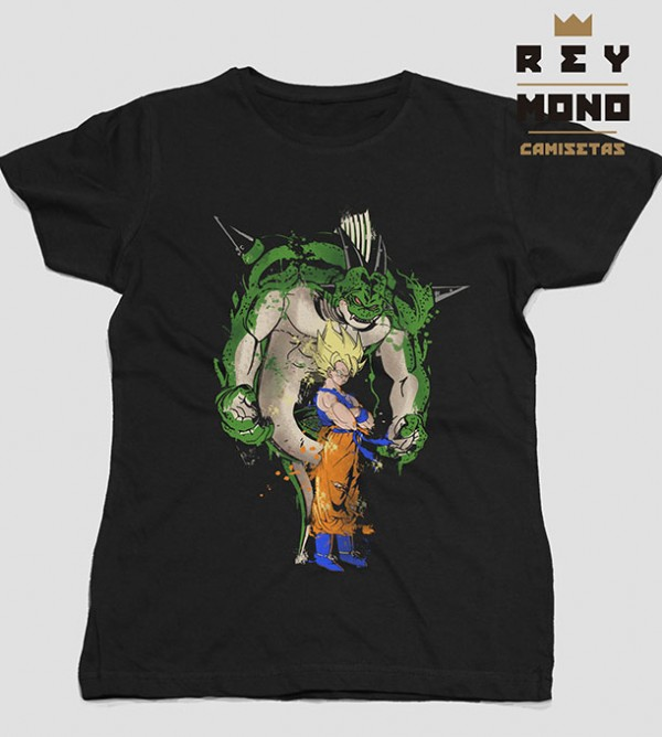 SUPER SAIYAN AND PORUNGA TEE