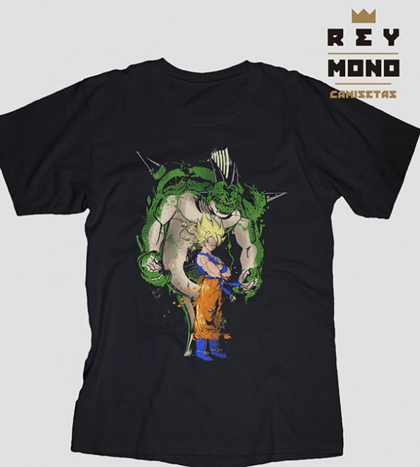 SUPER SAIYAN AND PORUNGA REGULAR TEE