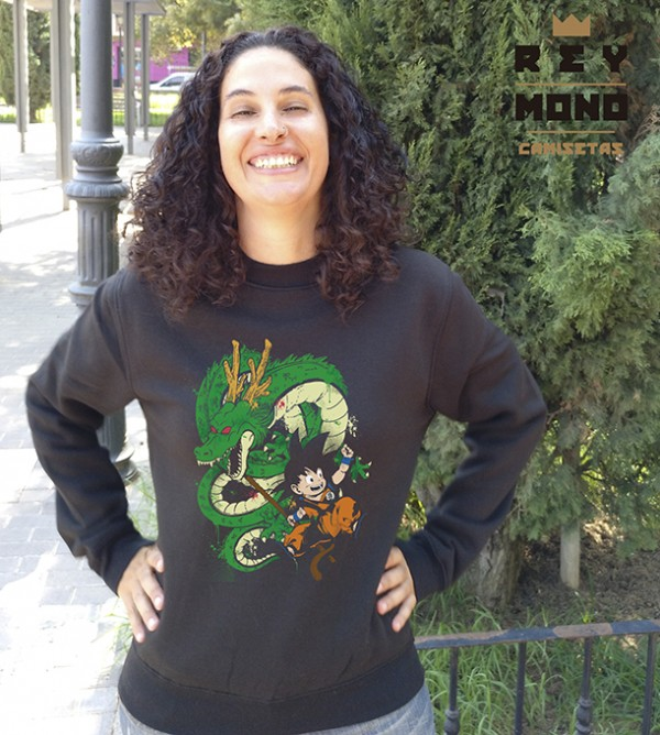 SHENRON AND GOKU  SWEATSHIRT