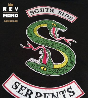 SOUTH SIDE SERPENTS TWO HEAD ZIP SWEATSHIRT
