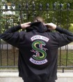 SOUTH SIDE SERPENTS TWO HEAD FELPA CON ZIP