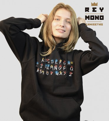 STRANGER THINGS SUDADERA