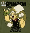 SPINACH FLAVOR POPEYE TEE