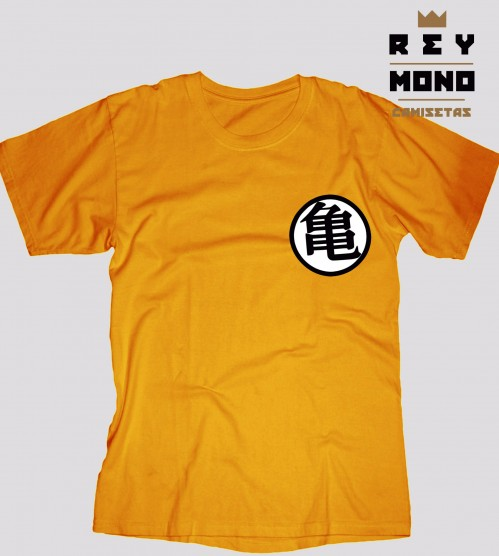 Dragon Ball orange uniform unisex front