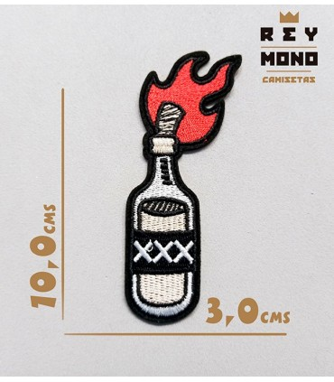COCKTAIL MOLOTOV PARCHE
