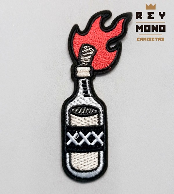 COCKTAIL MOLOTOV PATCH