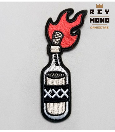 MOLOTOV COCKTAIL PATCH