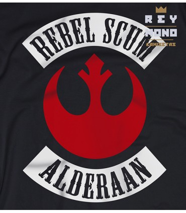 REBEL SCUM CAMISA