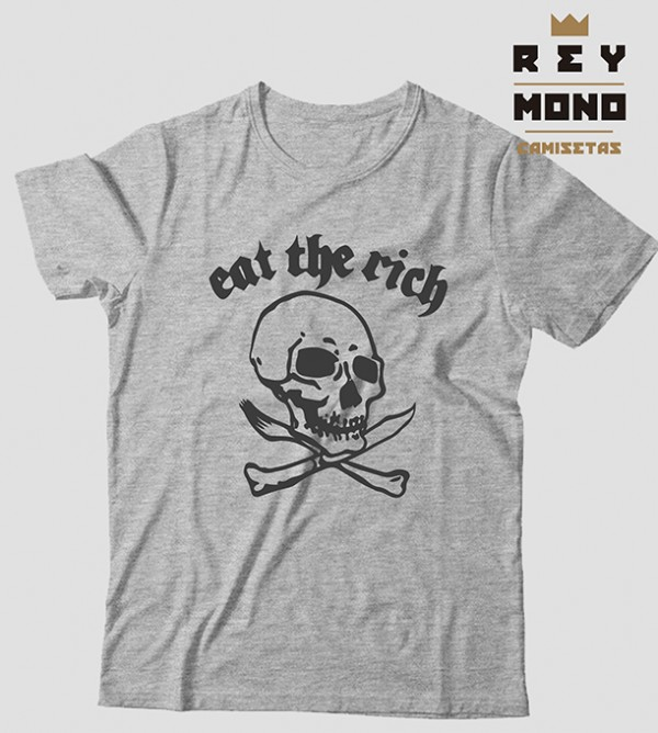 EAT THE RICH CAMISETA