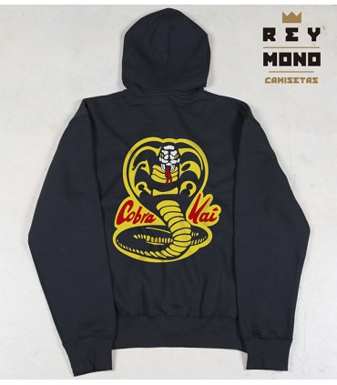 COBRA KAI SUDADERA ZIPPER MOLETOM