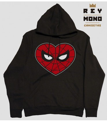 SPIDER LOVE SUDADERA