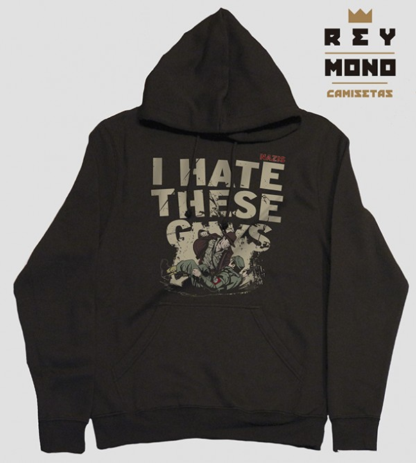 INDI JONES HATE SWEATSHIRT