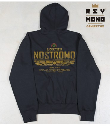NOSTROMO SWEAT ZIPPÉ