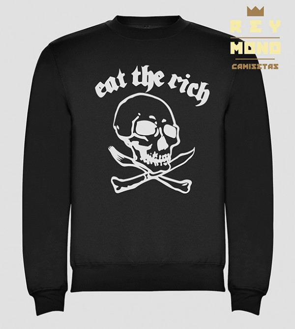 EAT THE RICH SWEATSHIRT