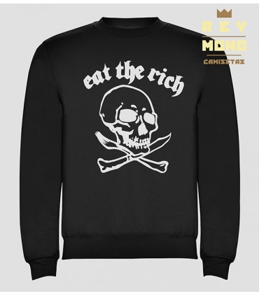 EAT THE RICH SUDADERA