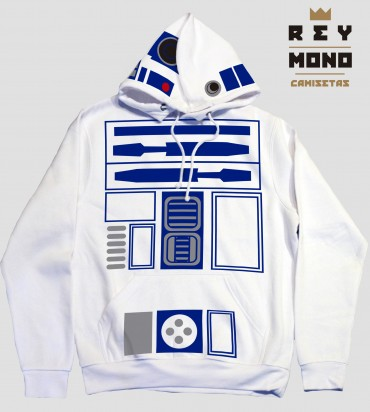 R2D2 Rey mono design star wars