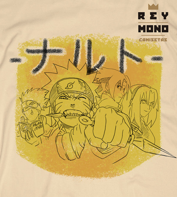 NARUTO FIGHT CAMISETA