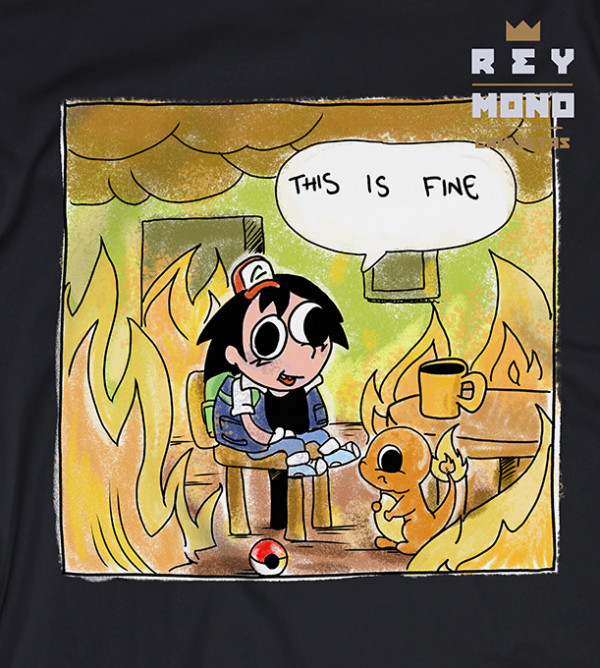 THIS IS FINE TEE