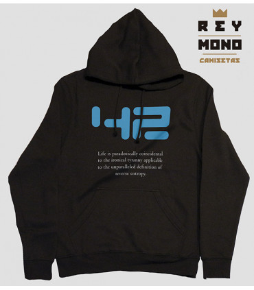 THE HITCHHIKER´S GUIDE HOODIE