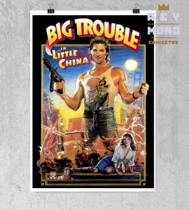 BIG TROUBLE IN LITTLE CHINA AFFICHE