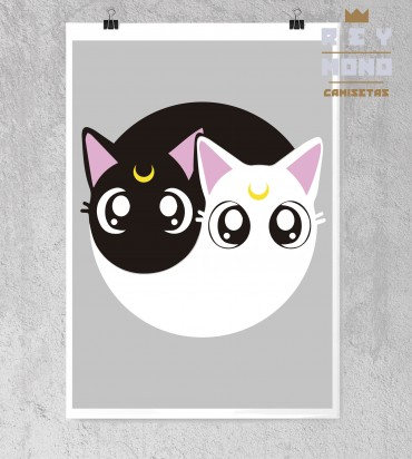 SAILOR CATS PRINT