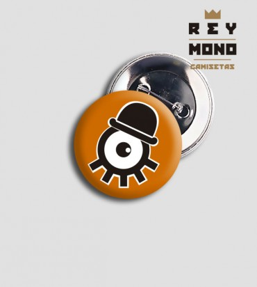 ORANGE CLOCKWORK BADGE