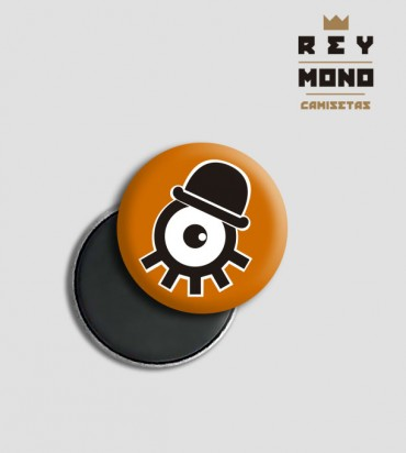 ORANGE CLOCKWORK MAGNET
