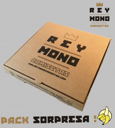 Surprise pack packaging pizza box
