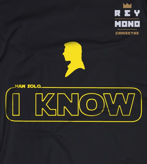 I know starwars diseño Han