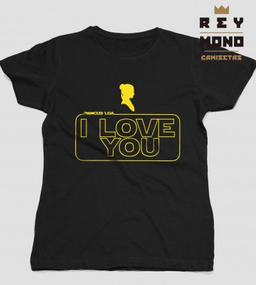 star wars I love you design she