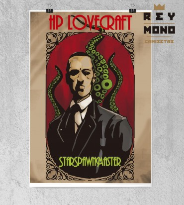 print poster Lovecraft design