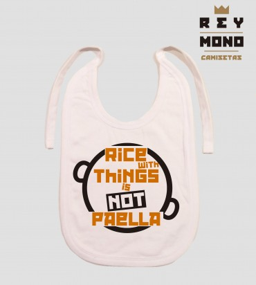 RICE WITH THINGS BIB