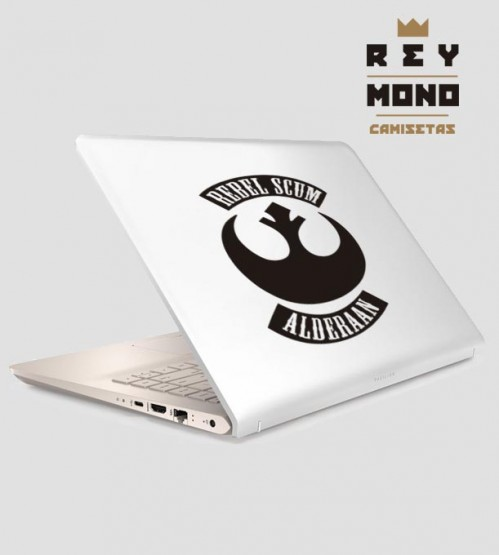 REBEL SCUM LAPTOP ADHESIVE