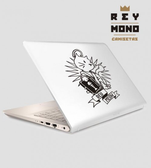 DÉU MEOW ADHESIVE FOR LAPTOP