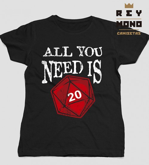 ALL YOU NEED IS ROL TEE