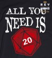 ALL YOU NEED IS ROL Camiseta