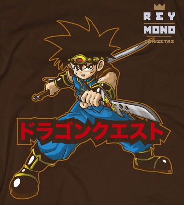 DRAGON QUEST FLY CAMISA