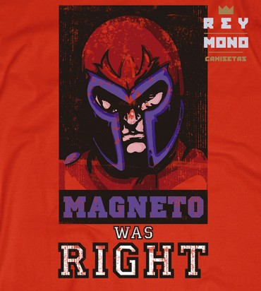 Magneto was right diseño