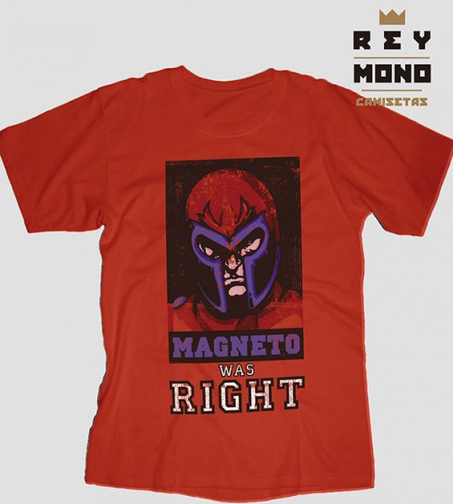 Magneto was right prenda unisex