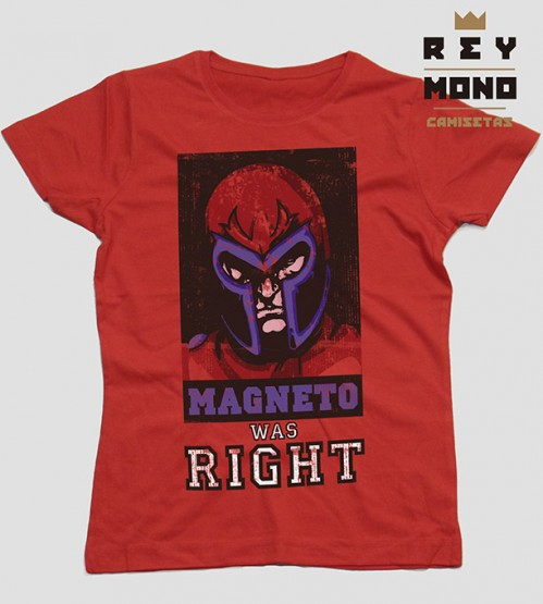 Magneto was right prenda mujer