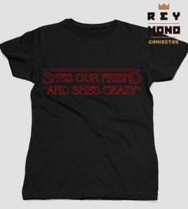 SHE´S OUR FRIEND CAMISETA