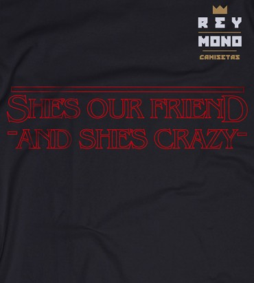 SHE´S OUR FRIEND CHEMISE