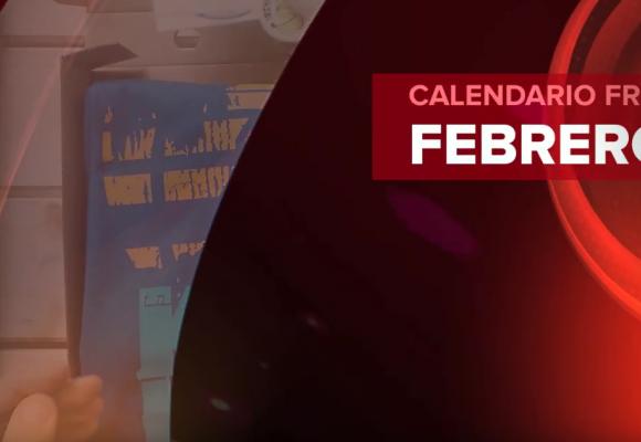 Calendario Friki Febrero